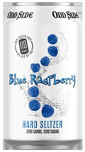 blue raspberry hard seltzer