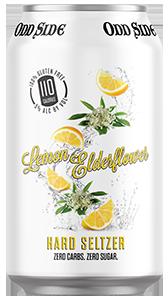 lemon elderflower hard seltzer can