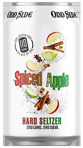 spiced apple hard seltzer can